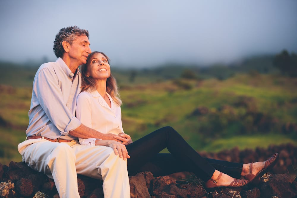 Happy loving middle aged couple | Physician Hearing Care Tennessee