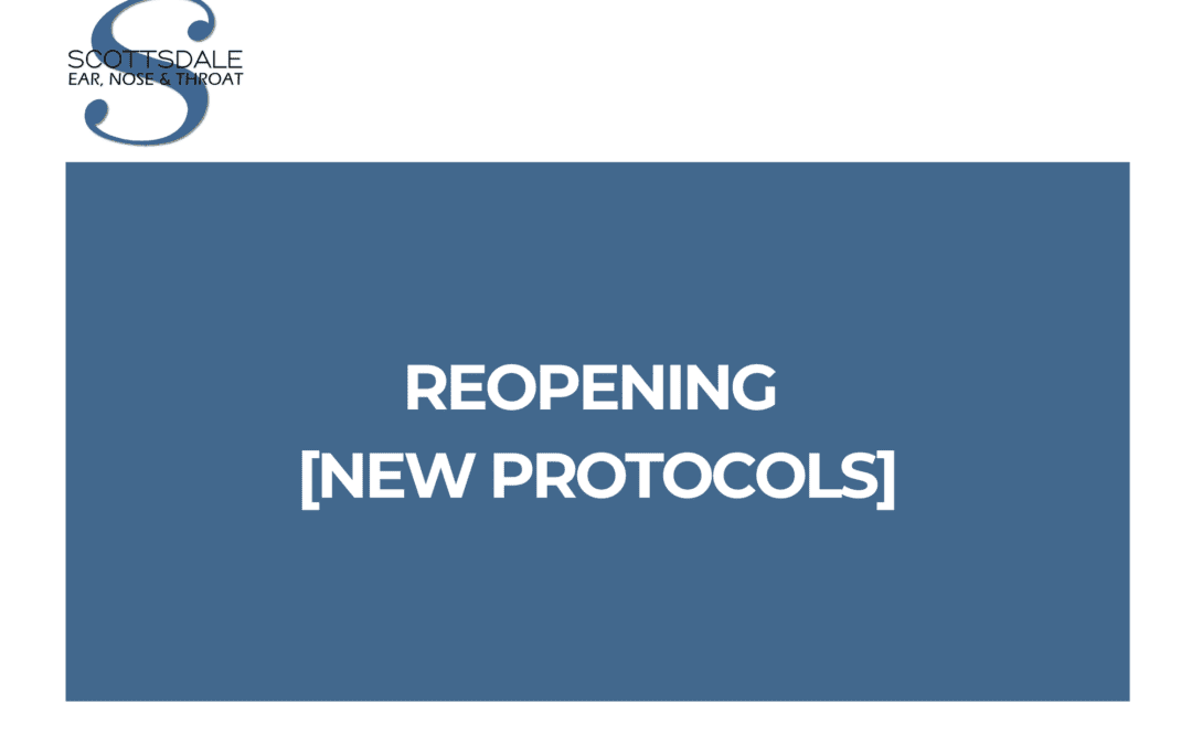Reopening to In-Person Appointments [New Protocols]