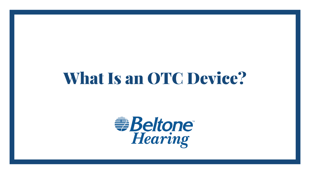 What Is an OTC Device?