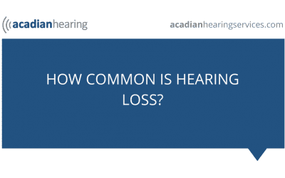 How Common Is Hearing Loss?