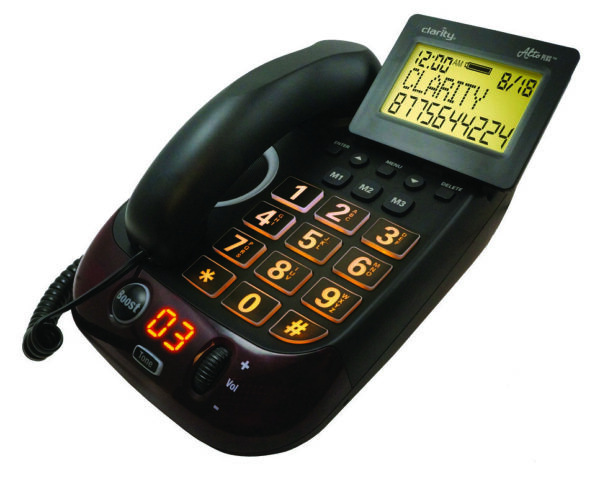 Clarity Alto Plus Digital Corded Phone with Caller ID from North Houston Hearing Solutions