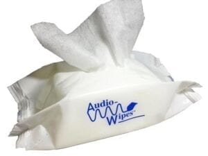 AudioWipes Pouch (30 pouch) from North Houston Hearing Solutions