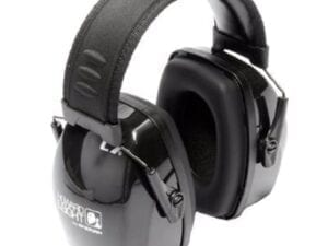Leightning LC Earmuff - Black from North Houston Hearing Solutions