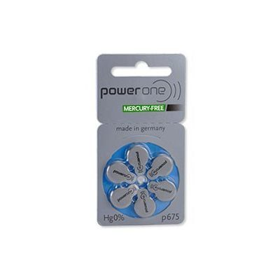 PowerOne MF Batteries Size 675 from North Houston Hearing Solutions