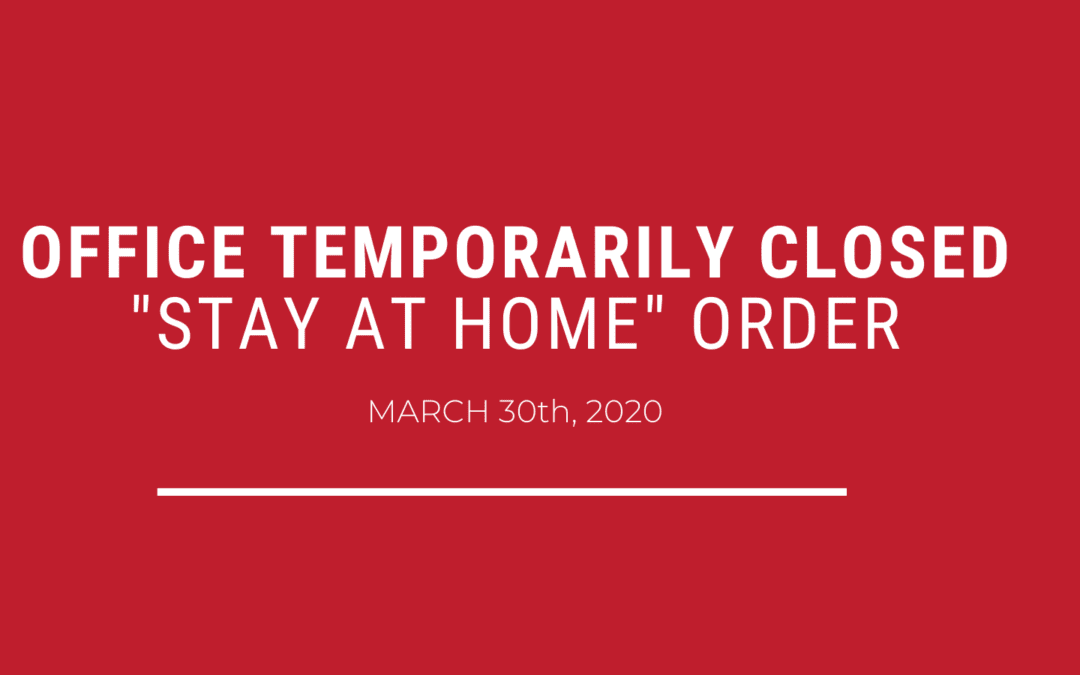 Offices to be Temporarily Closed, Phone Lines at Cornerstone Continue to be Open [COVID-19 Announcement]