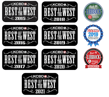 Best of the West Winners - 7 years running