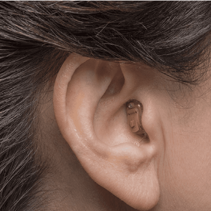 Completely-in-the-canal (CIC) Hearing Aid