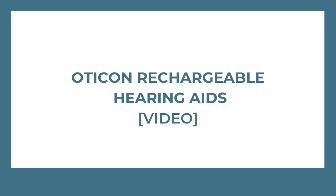 oticon rechargeable hearing aids image