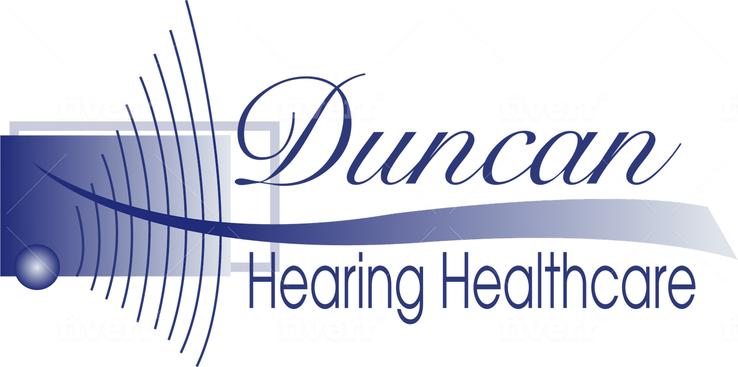 Duncan Hearing Healthcare header logo