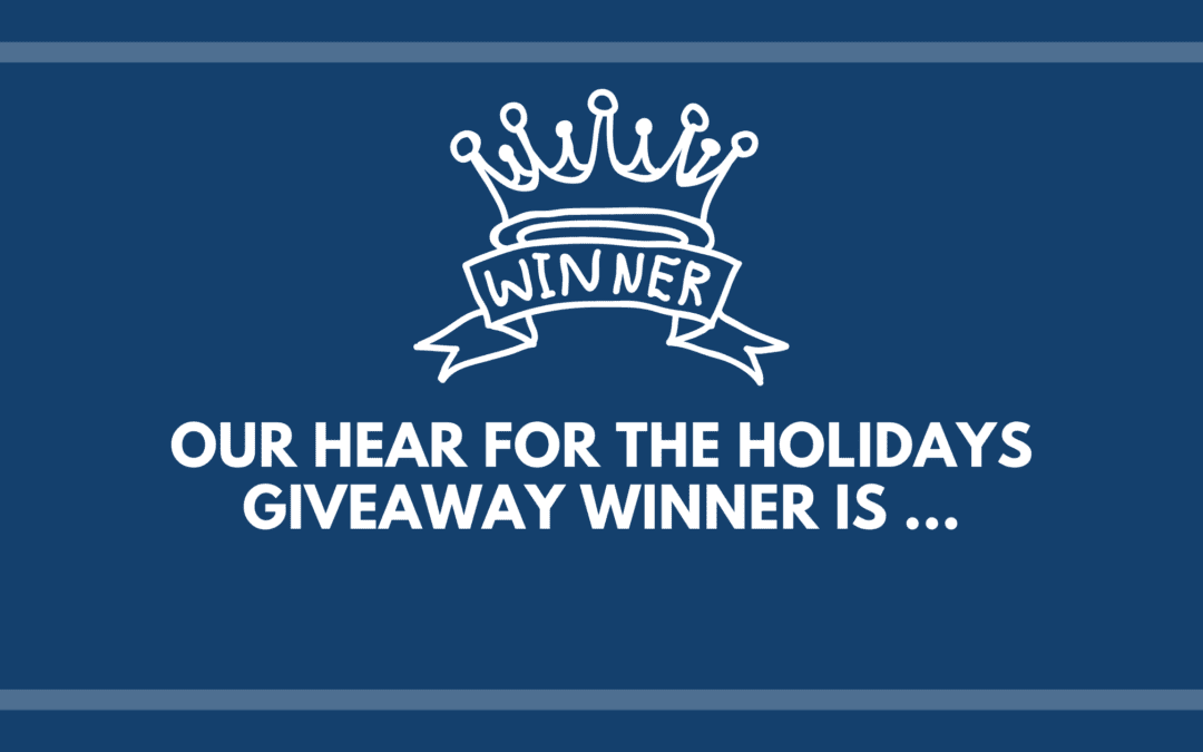 Our Hear for the Holidays Giveaway Winner Is…