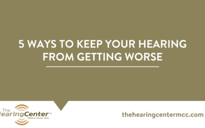 5 Ways to Keep your Hearing from Getting Worse