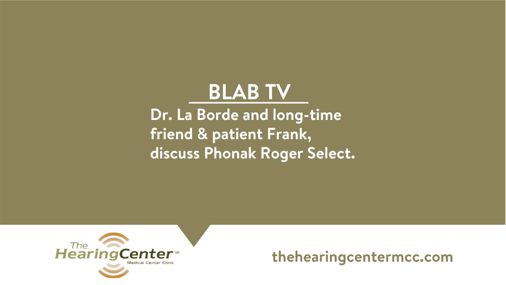 Dr. LaBorde Discusses Roger Select on Blab TV