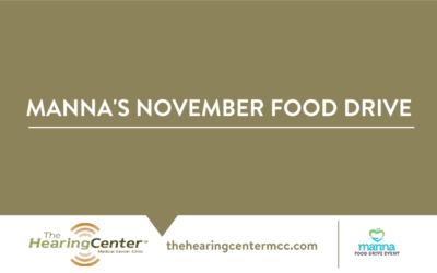 We're Helping with Manna's November Food Drive