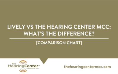 Lively vs The Hearing Center MCC: What's the Difference?