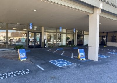 Curbside Service Parking Bays