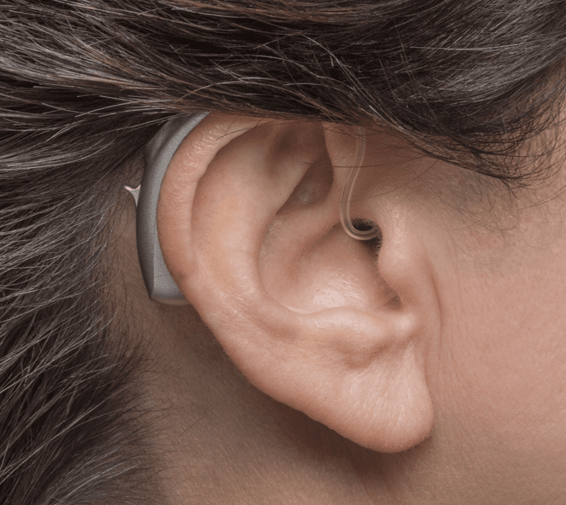 Behind the ear hearing device