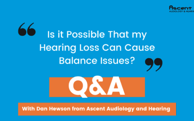 Is It Possible That My Hearing Loss Can Cause Balance Issues? | Dan Hewson's Coffee & Audiology