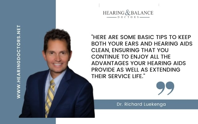 How Do I Keep My Ears And Hearing Aids Clean?