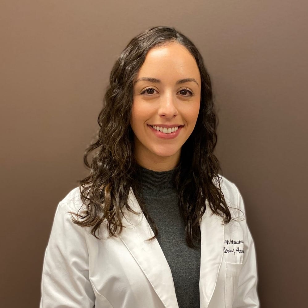 Audiology Associates Audiologist Mikayla Abrams. Baltimore, The Union Memorial Hospital Office