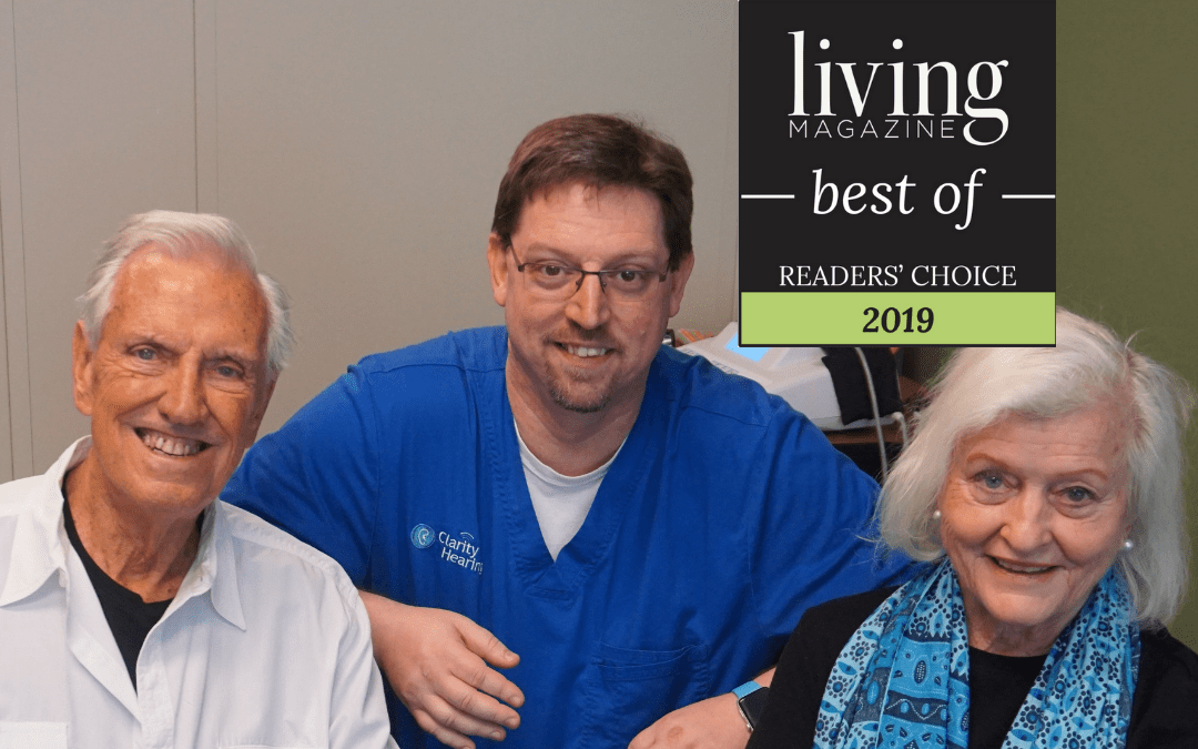 Living magazine Best Audiologists - won again