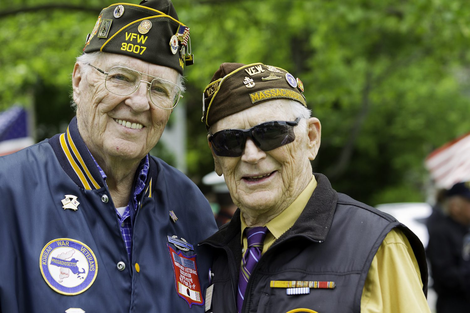 Veterans at Memorial Day service | Clarity Hearing