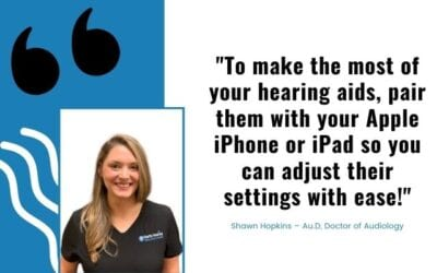 How To Pair ReSound Hearing Aids To An Apple iPhone or iPad