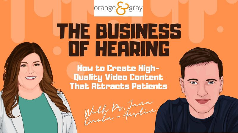 Episode 13How to Create High-Quality Video Content That Attracts Patients With Dr. Jana Emola-Austin