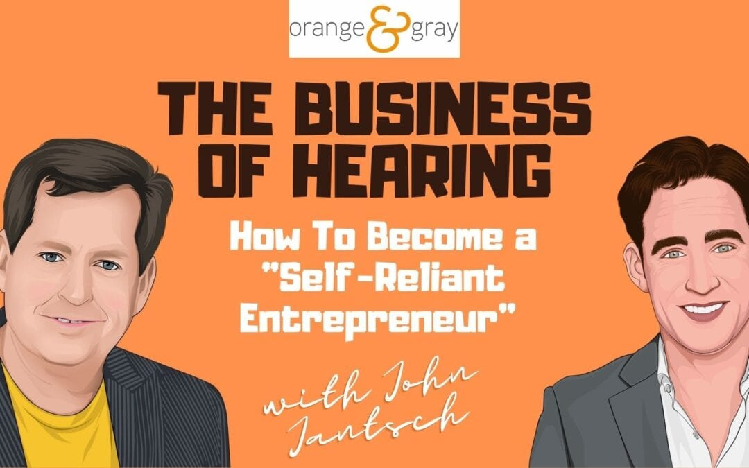 """Episode 22How To Become a """"Self-Reliant Entrepreneur"""" with John Jantsch"""